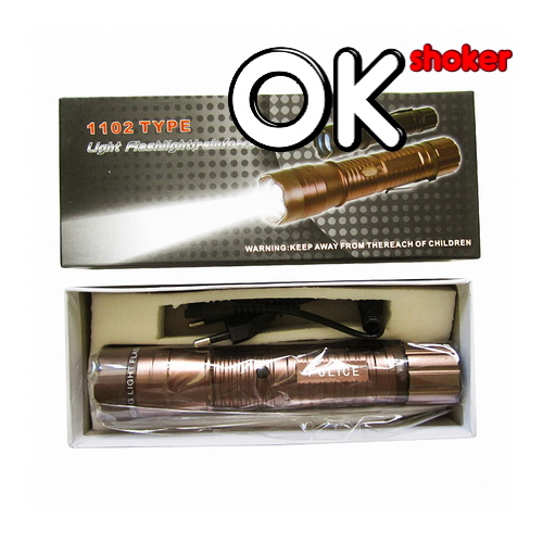 Электрошокер FLASHLIGHT MINI (POLICE BRONZE 2013) купить в Москве